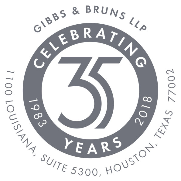 Gibbs & Bruns' 35th Anniversary